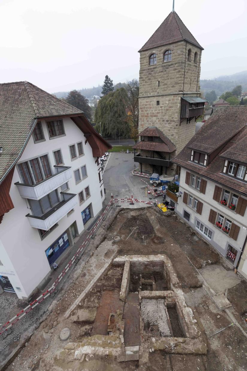 Foto Fundament Obere Badstube Zofingen
